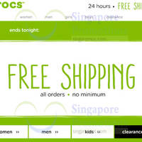 Read more about Crocs Free Shipping 1-Day Promo (NO Min Spend) 21 Jan 2016