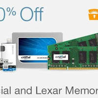 Read more about Crucial & Lexar Memory Up to 70% Off 24hr Promo 26 - 27 Jan 2016
