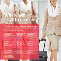 Read more about Emirates fr $458 Promo Fares 5 - 19 Jan 2016