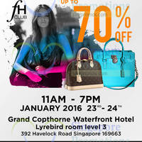 Read more about FH Club Branded Handbags Sale 23 - 24 Jan 2016