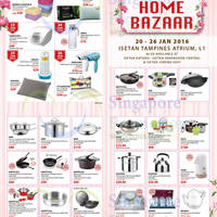 Read more about Isetan Festive Home Bazaar 20 - 26 Jan 2016
