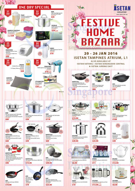 Festive Home Bazaar, One Day Specials, Kitchenware, Pans, WMF