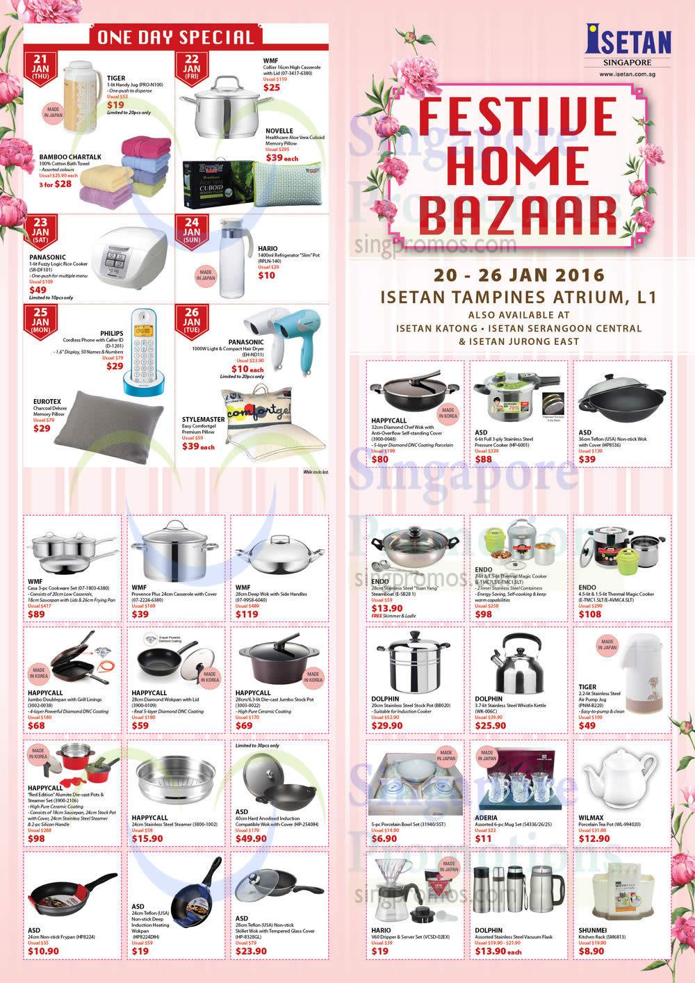 Festive Home Bazaar, One Day Specials, Kitchenware, Pans, WMF
