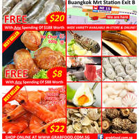 Read more about GrabFood CNY Seafood Sale @ Buangkok MRT 29 Jan - 6 Feb 2016