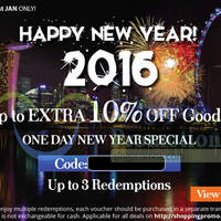 Read more about Groupon 5% to 10% OFF (NO Min Spend) Selected Deals 1-Day Coupon Code 1 Jan 2016