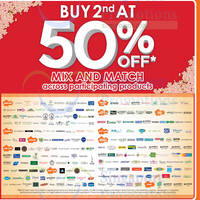 Read more about Guardian 50% OFF 2nd Buy (Mix & Match) on Participating Brands 7 Jan - 3 Feb 2016