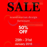 Read more about Hommage Lifestyle Furniture Warehouse Sale 29 - 31 Jan 2016