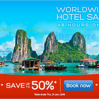 Read more about Hotels.Com Up To 50% 48hr Sale 20 - 21 Jan 2016