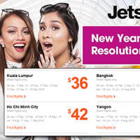 Read more about Jetstar fr $36 (all-in) New Year Resolution Promo Fares 11 - 15 Jan 2016