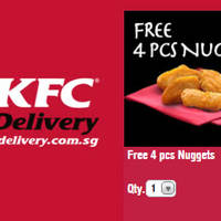 Read more about KFC Delivery Free 4pcs Nuggets Promo Code 22 - 31 Jan 2016