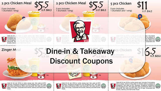 ... -in & Takeaway Discount Coupons 4 – 24 Jan 2016 UPDATED 9 Jan 2016