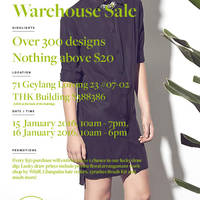 Read more about Love & Bravery Warehouse Sale 15 - 16 Jan 2016