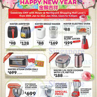 Read more about Mayer Celebrate CNY Promo @ Northpoint 25 - 31 Jan 2016