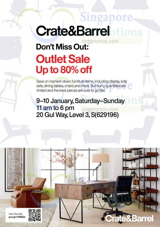 Outlet Sale Dates, Time, Venue