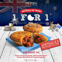 Read more about Pie Face 1-for-1 Pies 1-Day Promo 26 Jan 2016