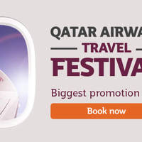 Read more about Qatar Airways Up To 45% Off Fares Travel Festival Promo 11 - 17 Jan 2016