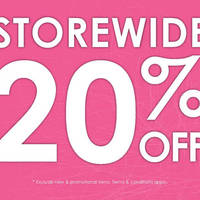 Read more about Sasa 20% Off Storewide Promotion 18 - 21 Feb 2016