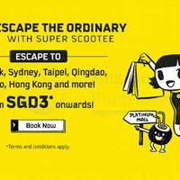 Read more about Scoot fr $3* 2hr Take Off Tuesday Promo (7am to 9am) 26 Jan 2016