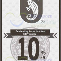 Read more about Sea Horse 10% OFF Storewide Promo 13 Jan - 7 Feb 2016