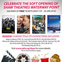 Read more about Shaw Theatres FREE Tickets Giveaway for SAFRA @ Waterway Point 18 - 20 Jan 2016