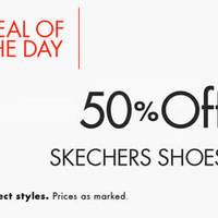Read more about Skechers 50% Off Shoes 24hr Promo 28 - 29 Jan 2016