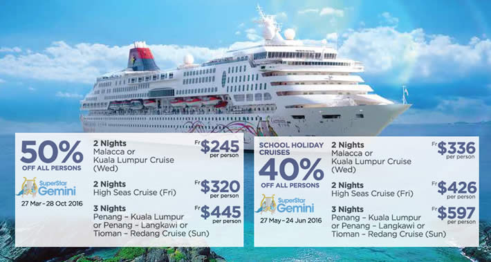 Star Cruises Feat 26 Jan 2016