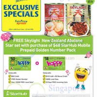 Read more about Starhub Buy $68 Mobile Prepaid Golden Pack & Get FREE Abalone 5 Jan - 22 Feb 2016