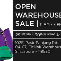 Read more about StyleTribute Open Warehouse Sale 29 - 30 Jan 2016