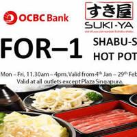 Read more about Suki-Ya 1-for-1 Shabu-Shabu Buffet For OCBC Cardmembers (Wkdays) 4 Jan - 29 Feb 2016
