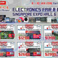 Read more about Audio House Electronics Expo @ Singapore Expo 8 - 10 Jan 2016