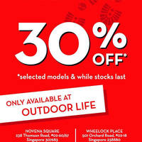 Read more about Timberland Footwear 30% Off Promo @ Outdoor Life 4 - 24 Jan 2016