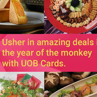 Read more about UOB CNY Dining Deals (1-for-1, Up To 50% Off & More) 11 Jan - 22 Feb 2016