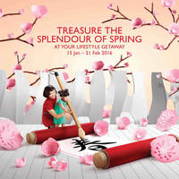 Read more about VivoCity Treasure the Splendour of Spring 15 Jan - 21 Feb 2016