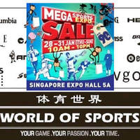 Read more about World of Sports Mega Sports Expo Sale 28 - 31 Jan 2016