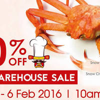 Read more about iChef CNY Warehouse Sale 22 Jan - 6 Feb 2016