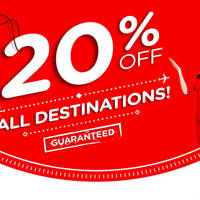 Air Asia 20% OFF All Destinations Promo 15 - 21 Feb 2016