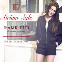 Read more about BEGA Atrium Sale @ AMK Hub 29 Feb - 6 Mar 2016