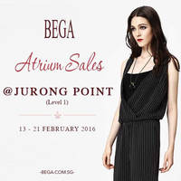 Read more about Bega Atrium Sale @ Jurong Point 13 - 21 Feb 2016