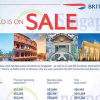 Read more about British Airways fr $668 Promo Fares 21 Feb - 14 Mar 2016