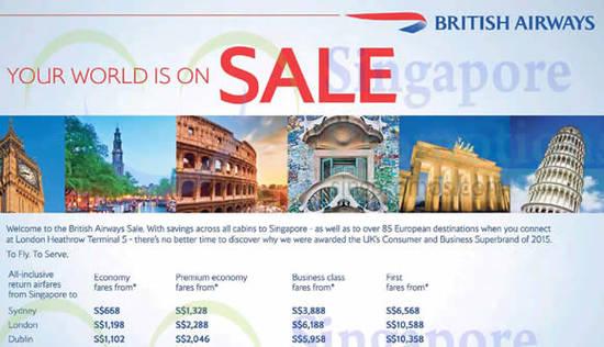 British Airways Feat 22 Feb 2016