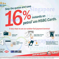 Read more about Caltex 16% Off Petrol For HSBC Cardmembers 28 Feb - 30 Apr 2016