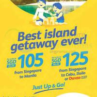 Read more about Cebu Pacific fr $105 Promo Fares 2 - 4 Feb 2016