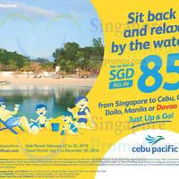Read more about Cebu Pacific fr $85 all-in Davao, Iloilo, Clark & Cebu Promo Fares 22 - 25 Feb 2016