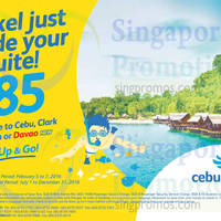 Read more about Cebu Pacific fr $85 all-in Davao, Iloilo, Clark & Cebu Promo Fares 6 Feb 2016