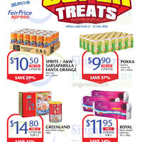 Read more about Cheers & FairPrice Express Up to 37% Off Super Treats 2 - 15 Feb 2016