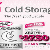 Read more about Cold Storage 4-Day Specials (New Moon New Zealand Abalone, CP Shrimp Wonton & More) 3 - 6 Feb 2016