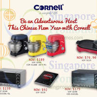 Read more about Cornell Appliances CNY Promo Offers From 3 Feb 2016