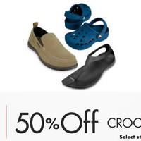 Read more about Crocs 50% Off Selected Shoes 24hr Promo 25 - 26 Feb 2016