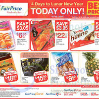 Read more about Fairprice 1-Day CNY Deals (New Moon Pacific Clams, Kinder Bueno, Manuka Honey & More) 4 Feb 2016