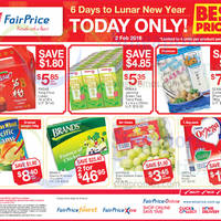 Read more about Fairprice 1-Day CNY Deals (Golden Chef, Brand's, Nestle Omega Plus & More) 2 Feb 2016